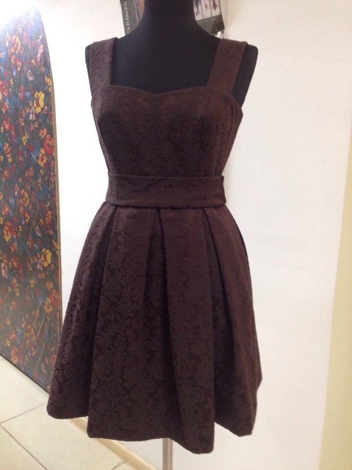 Какое платье сшить из черно 419
